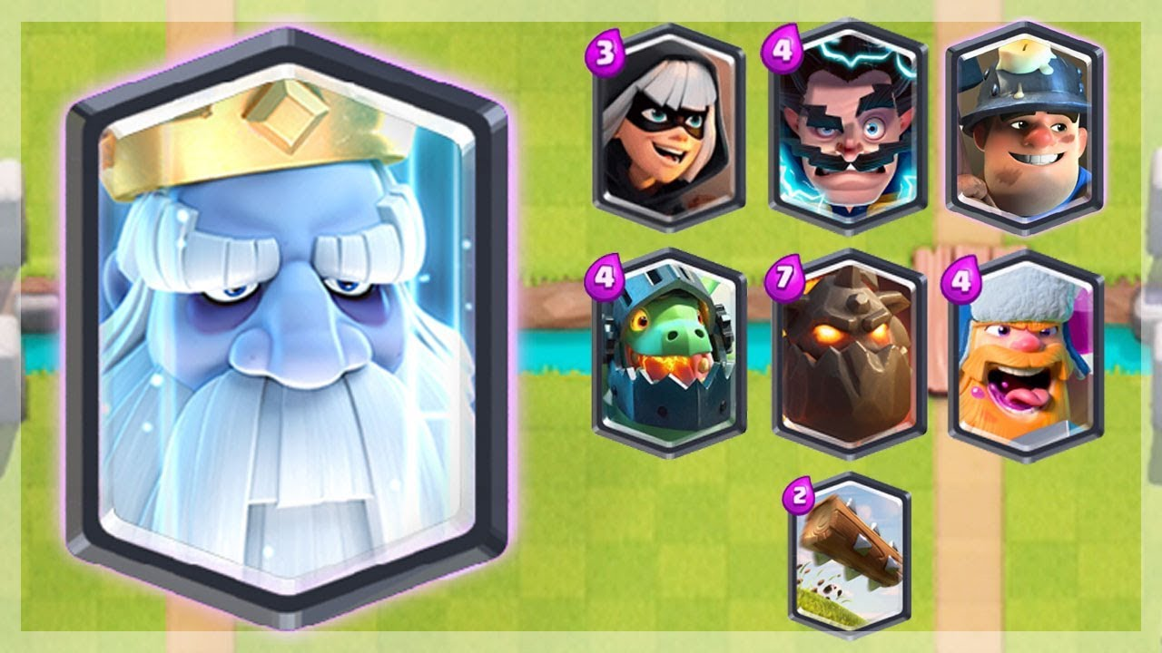 royal ghost w all legendaries new clash royale