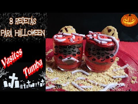 Vasitos Tumba para Halloween por el canal Kirke Tips