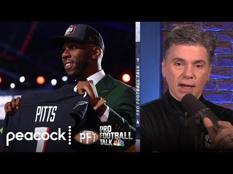 What Atlanta Falcons' Kyle Pitts pick means for Julio Jones | Pro Football Talk | NBC Sports