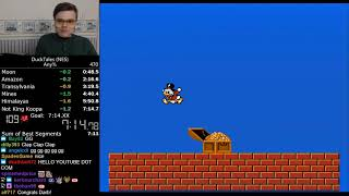 (7:14) DuckTales (NES) any% speedrun