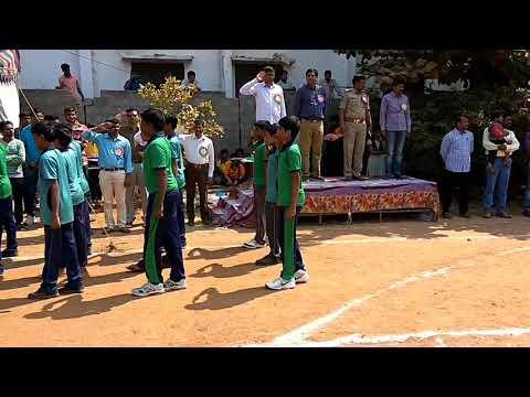 Globus international school .. Chilukur..sports meet and march past 2017..