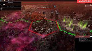 Warhammer 40,000: Gladius - Tyranids Gameplay (PC Game)