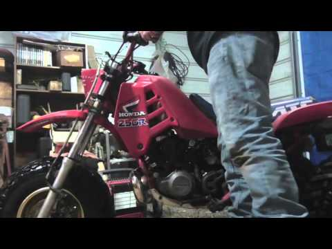 1986 Honda 250R ATC 3 wheeler overview/ start up
