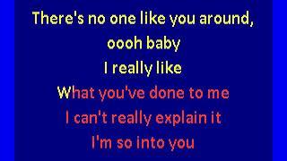 Tamia - So Into You (karaoke)