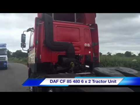 2006 DAF CF 85 480 6 X 2 Tractor Unit from Sotrex Limited