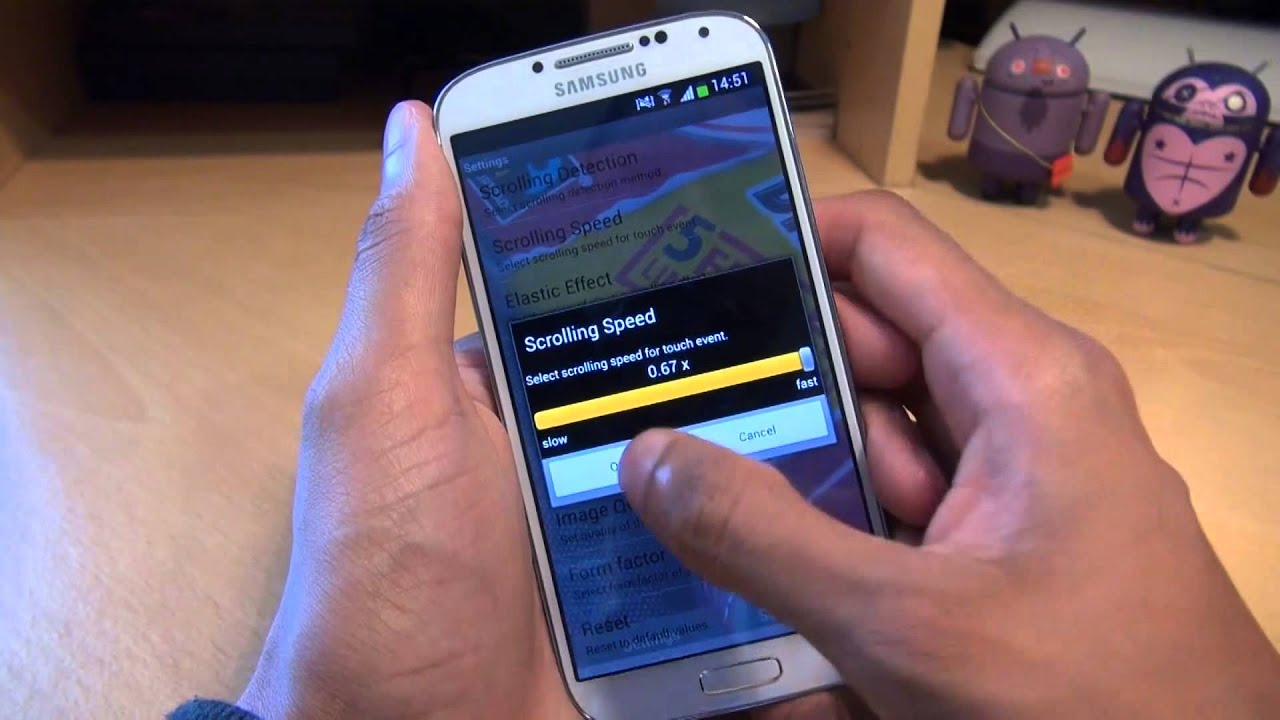 How To Set Scrolling Wallpaper On Samsung Galaxy S4 IV