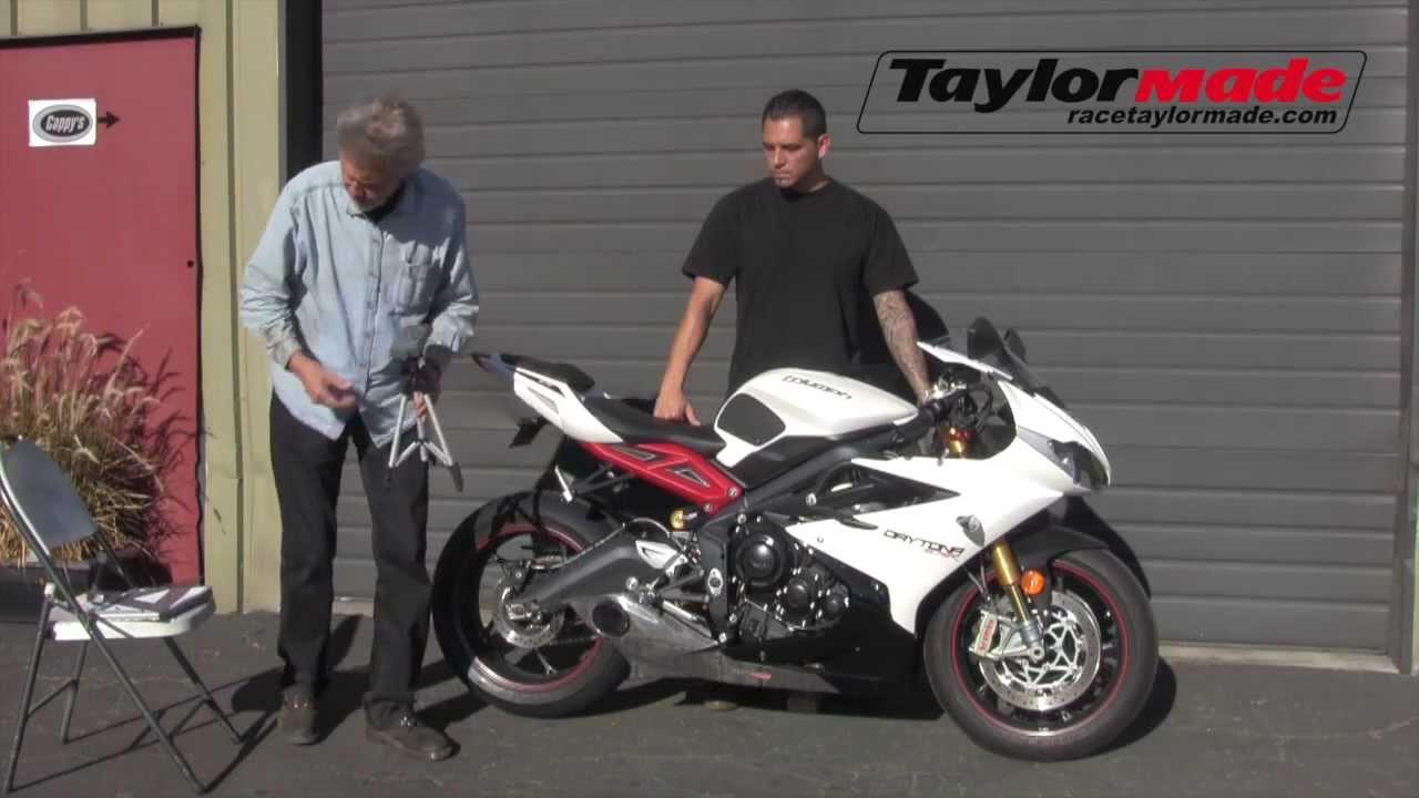 Triumph Daytona 675 W Taylormade Racing Exhaust Youtube