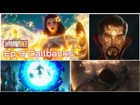 All Callbacks from What If Episode 9 | What If... The Watcher Broke his Oath | SuperDUO