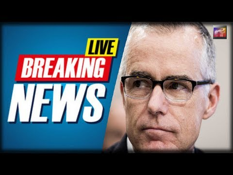 BREAKING: Dems SHOCK With Last Second Move With Crooked Cop Andrew McCabe  It's UNBELIEVABLE!