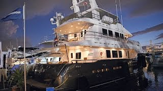 Nordhavn at the 2014 Fort Lauderdale International Boat show