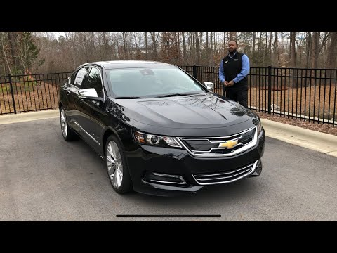 2019 Chevrolet Impala Premier Review Features And Test Drive