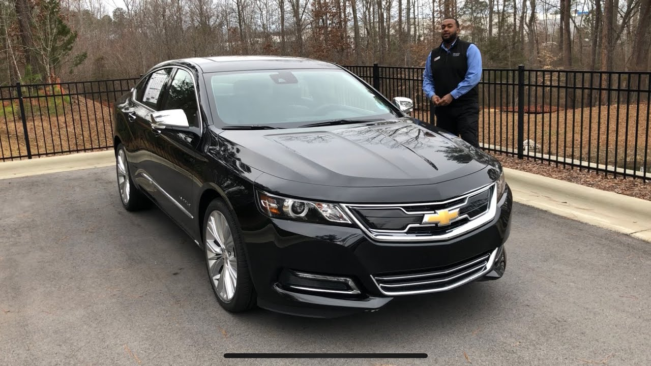 2019 Chevrolet Impala Premier Review Features and Test ...