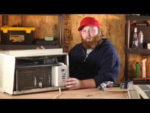 How to Clear an Air Conditioner Clog : Window Air Conditioners
