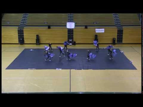 Wabash High School Winter Guard 2.2.2013