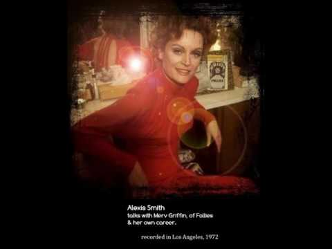 Alexis Smith - Interview - Merv Griffin - Audio - Follies - 1972