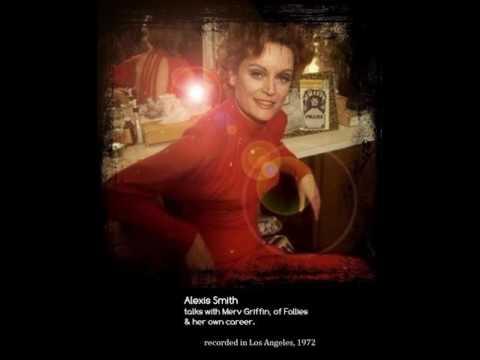 Alexis Smith    Merv Griffin    Follies  1972