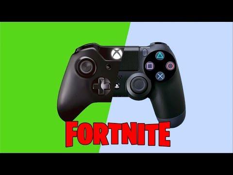 Fortnite PS4 Cross Platform Is Finally Here!   Xbox/PS4 Cross Platform!