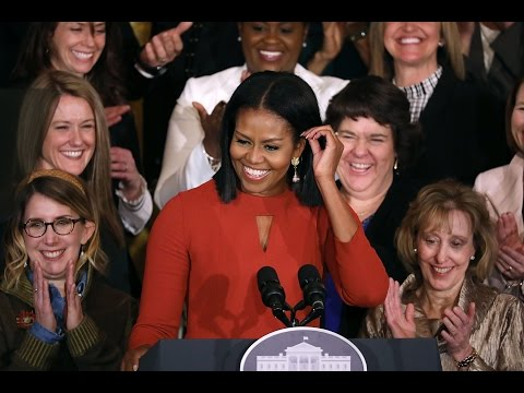 Michelle Obama's final speech as First Lady