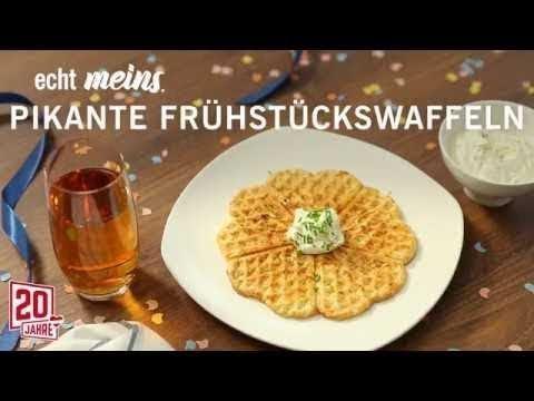 Pikante Schinkenspeck WaffelnFrühstück Mit Und Käse sQdCtrhx