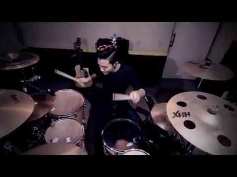 David Guetta - Hey Mama DISTO Remix - Drum Cover - Ixora (Wayan)