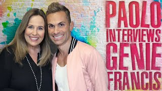 FUN interview with Genie Francis from the General Hospital studio!