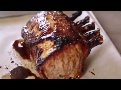 Hawaiian Pork Loin Rack Roast Recipe