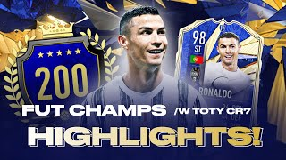 TOP 200 VE FUT CHAMPS S TOTY RONALDEM!!! FIFA 21 Ultimate Team