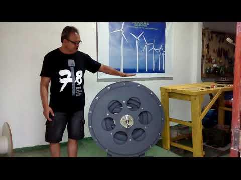 a39be3d1c3d GERADOR DE IMAS 20KW A 360 RPM - Смотреть видео онлайн