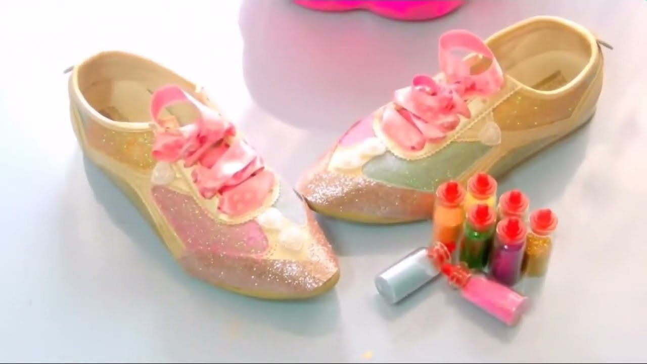 Diy Old Shoes Kids Craft Youtube