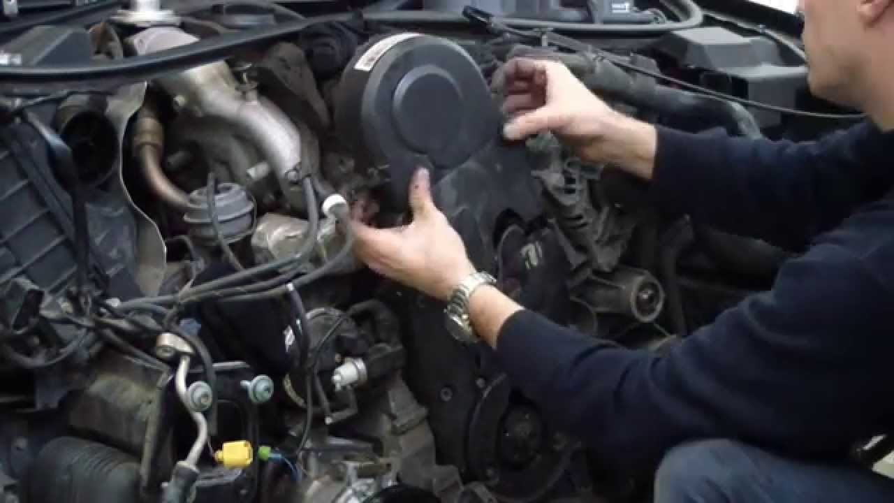 Audi A4 19 Tdi 2002 Awx Change Timing Belt Youtube Vw 2 0 L Engine Diagram