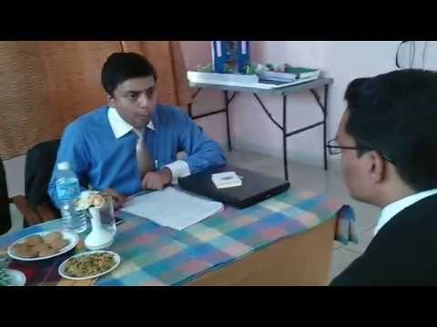 Personal Interview of Radisson BLU, Campus Drive at People's University