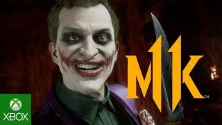 Mortal Kombat 11 Kombat Pack - The Joker Official Gameplay Trailer