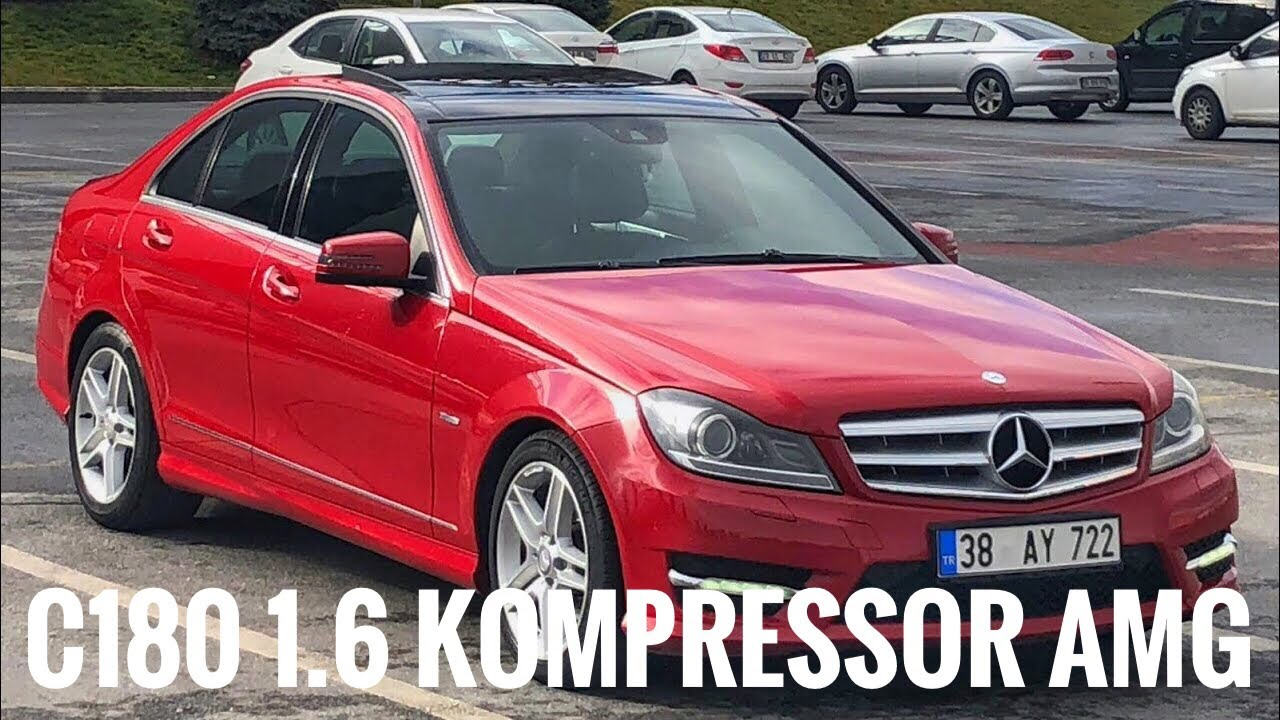 110.000 TL Premium   w204   Mercedes C180 Kompressor AMG   Otomobil Günlüklerim