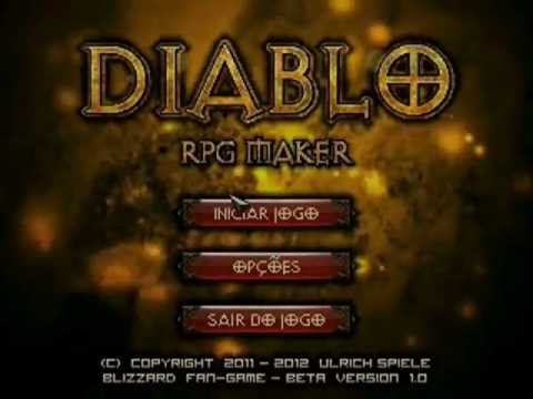 Diablo in RPG Maker 2000  This is everything  : RPGMaker