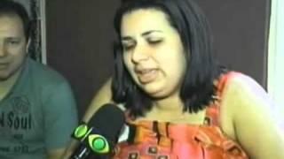 Grávida de quadrigêmeos, mulher vira atração em Taubaté