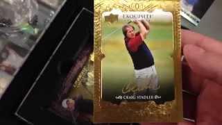 2014 Upper Deck Exquisite Collection Golf Box Break!!!