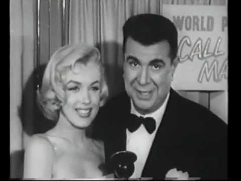 Marilyn Monroe - Interviewed At Call Me Madam Premiere 1953 FOOTAGE