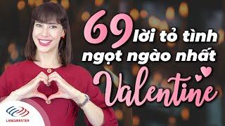 Học Tiếng Anh Online (Trực Tuyến) - 69 Lời tỏ tình tiếng Anh ngọt ngào nhất Valentine