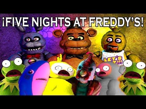 ¡FIVE NIGHTS AT FREDDY'S! con Santikun, Jannsus, Karloz, TheKio18 y Kendo P  Garry's Mod  thumbnail