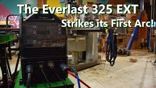 The Everlast 325EXT Strikes it's First Arc!