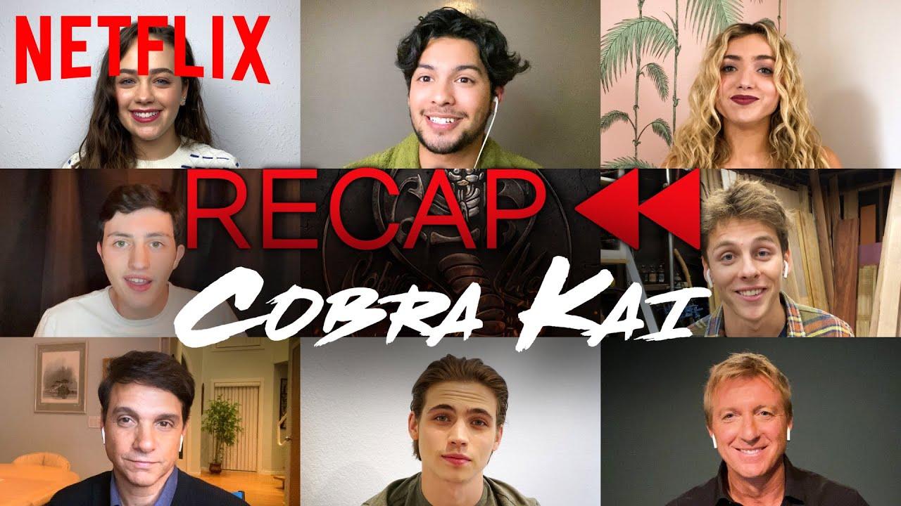 Download Get Ready for Cobra Kai Season 3! Official Cast Recap of Season 1 & 2 | Netflix