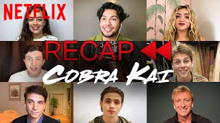 Get Ready for Cobra Kai Season 3! Official Cast Recap of Season 1 & 2 | Netflix