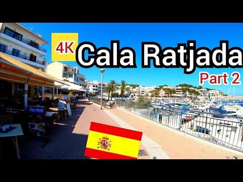 ⁴ᴷ Cala Ratjada Walking Tour 🇪🇸 Mallorca Spain (Part 2) 4K