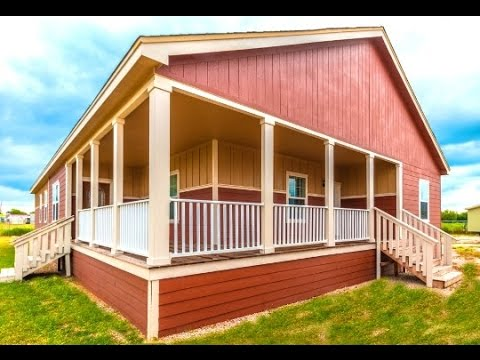 Colleseum large 4 5 bedroom modular mobile homes for sale in pearsall tx youtube for Four bedroom mobile homes for rent in beaufort