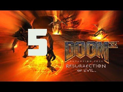 DOOM 3 Ressurection of evil Прохождение на
