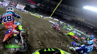 GoPro Adam Cianciarulo Main Event 2018 Monster Energy Supercross from Anaheim