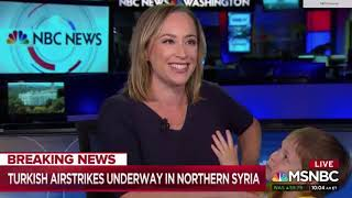 Gambar cover MSNBC Breaking News Interrupted By Reporter's Son