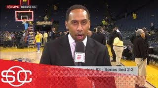 Stephen A.: Chris Paul looked great, Nick Young 'looked like straight garbage' | SportsCenter | ESPN
