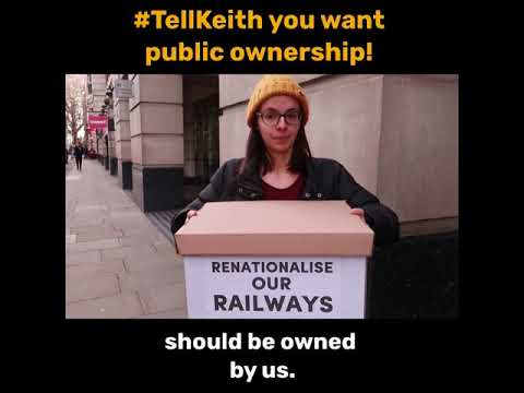 #TellKeith you want public ownership!