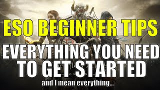 ESO Beginner Guide - EVERYTHING You Need to Know to Get Started